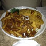 catfish with cajun fries