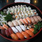 sushi party platter