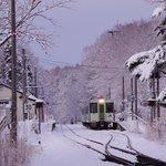 冬の小海線.甲斐大泉駅