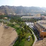 Al Husn sea view room, view of Al Bandar