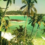 Mirissa beach surf and chill spot