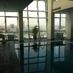 Top floor pool