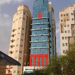 Hotel center building