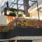 High in the Prangin Mall atrium