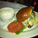 Monroe's Grilled Chicken Sandwich with Slaw