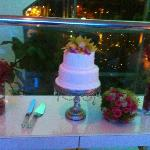 Our delicious wedding cake