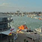 View from Room 301 at RNLI Training College Poole
