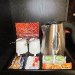 free coffee/tea in the room!