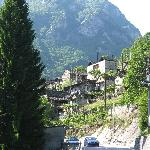Village with stone houses