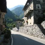 Narrow streets in villages