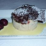 Baked Ginger Pudding with Christmas Casata