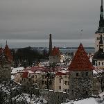 Vue de la vieille ville