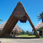 Traditional A-Frame structure at the Kalinago Barana Aute