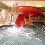 LARGE water slide!