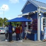Line Outside Restaurant