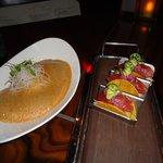 Ahi Taco's and Hamachi