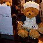 Ollie Bear with Cheshire Brochure
