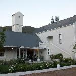 Front View of the Guest house