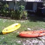 kayaks, free of charge (at least some activity provided by the villas)