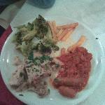 Horrendous salty Food