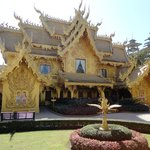 The Golden Toilets next to the Wat