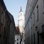 This close to the square in the old town...