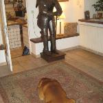 one of the guard dogs....