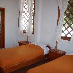 twin room at Mainao hotel Galapagos