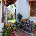 gardens at Mainao Hotel Galapagos
