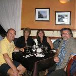 souper avec amis au Chou de Bruxelles