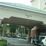Llegando al Hotel