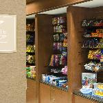 Enjoy snacks from the Suite Shop