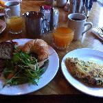 朝食も満足の内容!Breakfast is Great.