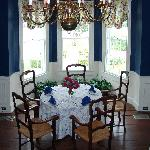 The Blue Dining Area
