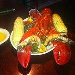 Maine lobster bake with Jumbo Prawns!! Yumm