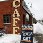 Seward Cafe from the outside.