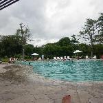 Una de las 2 piscinas