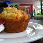 savory muffins.