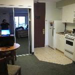 Kitchen area (and closet)