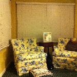 """sitting area of the """"Nautical"""" room"""