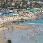 Packed Beach at Gaibu on Weekend