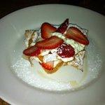 Brioche with Strawberries and Cream