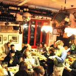 Inside the wonderful wine tasting session