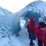 Ice glacier walk