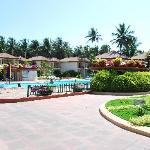 SWIMMING POOL AND POOL SIDE ROOMS