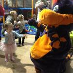 Sophie meets Dino