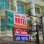 Lek Hotel Sign