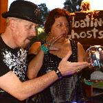 Ghost Hosts Cecil McKnight and Divina