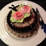 a treat that we enjoyed on our anniversary at the Grand Godwin Hotel.