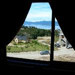 view to the Beagle Channel from the bedroom